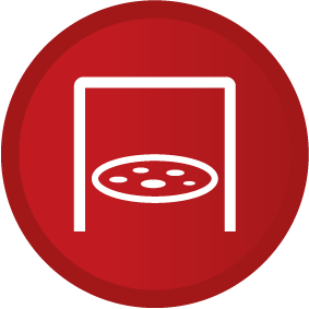 Smeg pizza function oven symbol