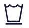 Delicate item washing symbol